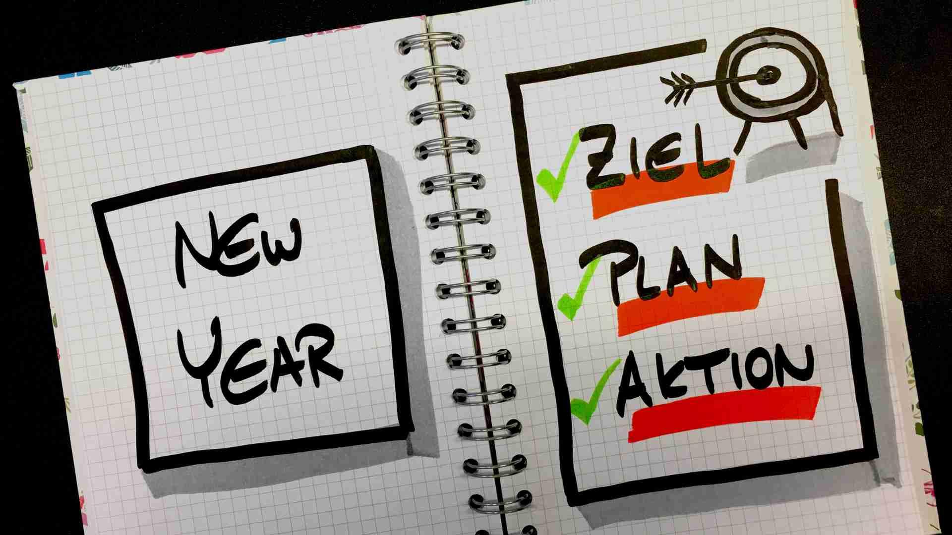 Vorsätze: 3 Schritte, wie du deine Ziele 2019 erreichst