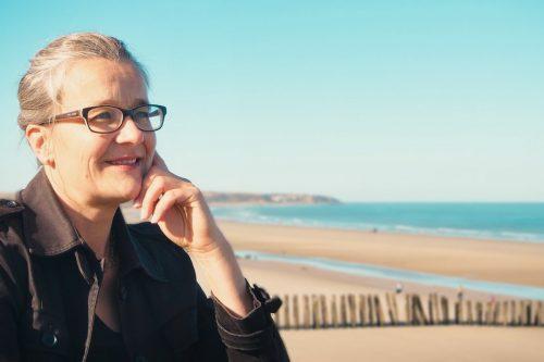 Dagmar Gerigk Blick auf's Meer