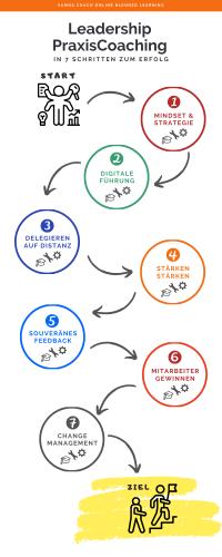 Leadership PraxisCoaching Infografik