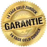Geld zurück Garantie -14 Tage