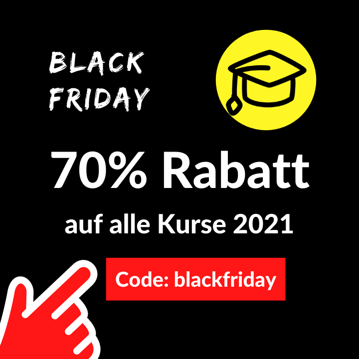 Black Friday Rabatt
